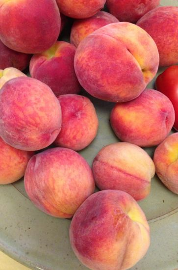 it's peach season