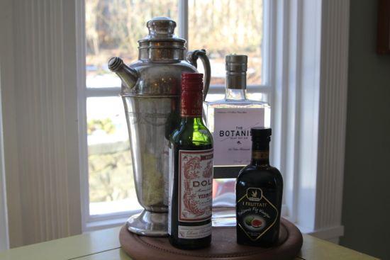 gin vermouth balsamic