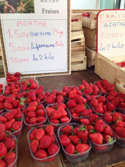 the strawberries have names