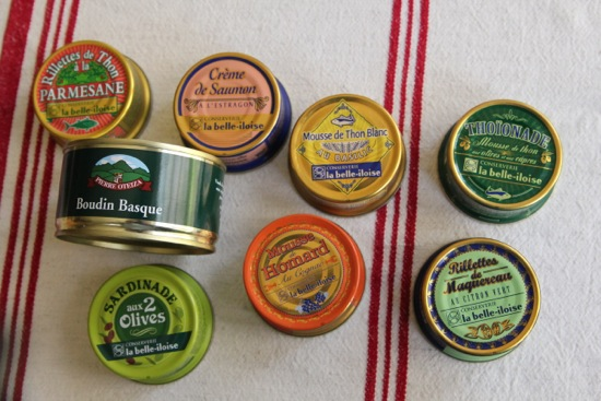 tins of fishies