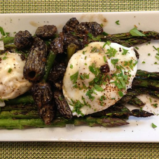 canning season (and a recipe for asparagus and morels ...