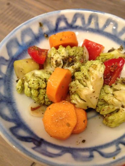 Bowl of pickled veg
