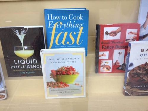 In a Troy, NY bookstore window, I'm keeping some pretty swell company.