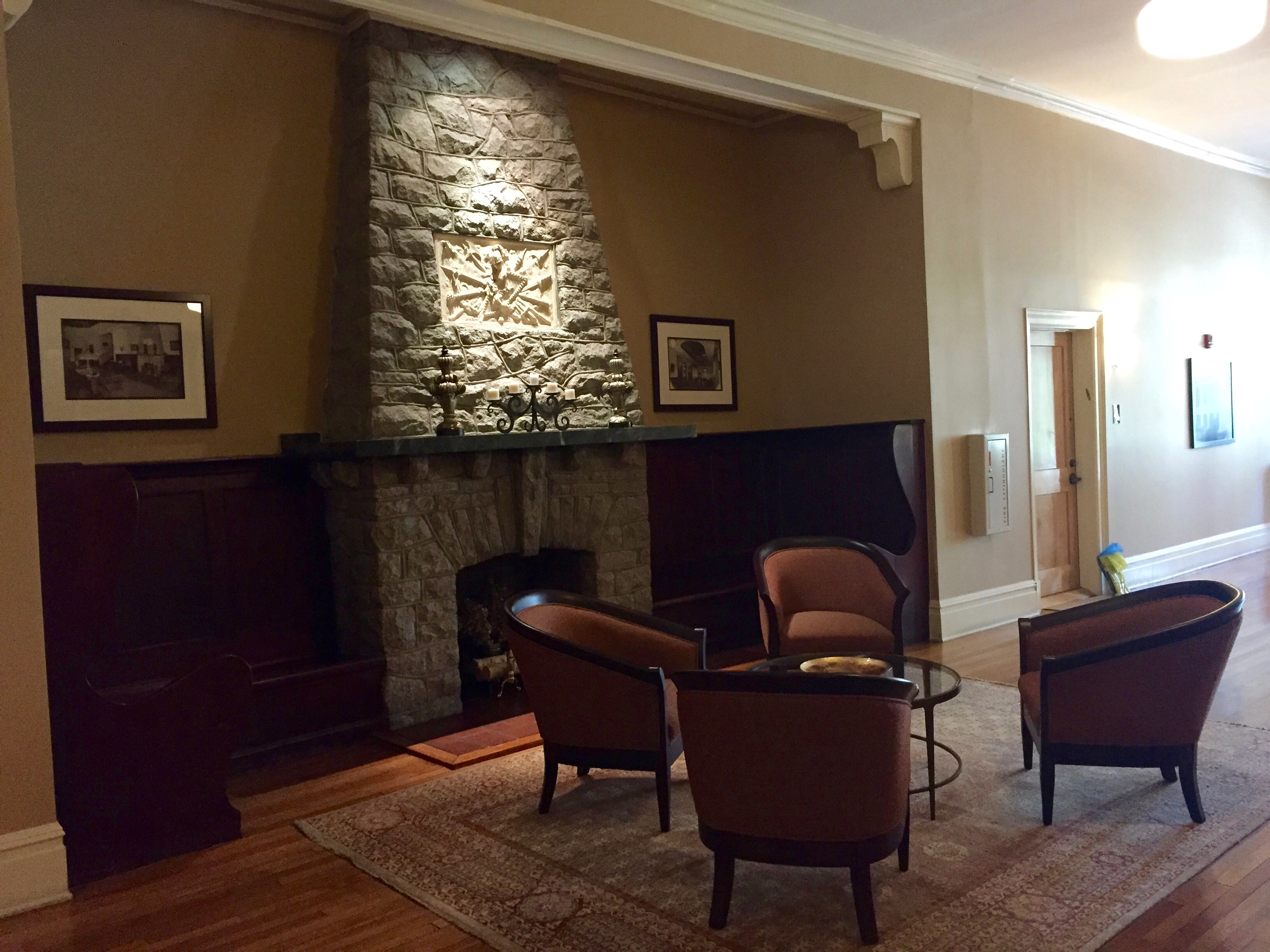 one of the many common areas in the building